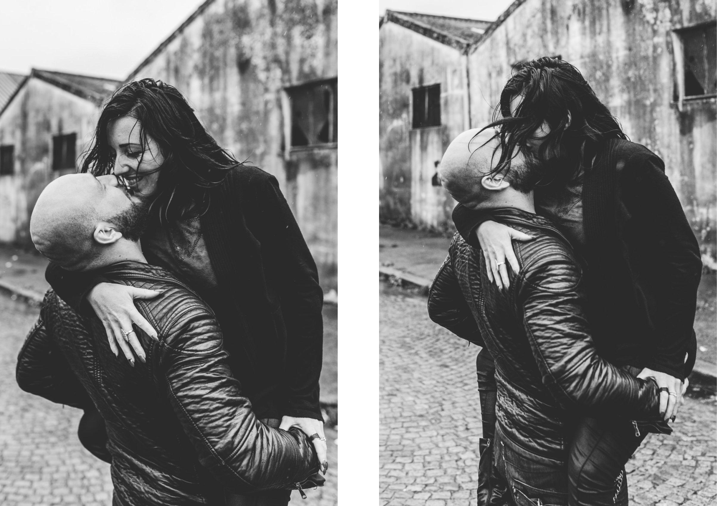 Seance couple au port de Lorient - Warren Lecart