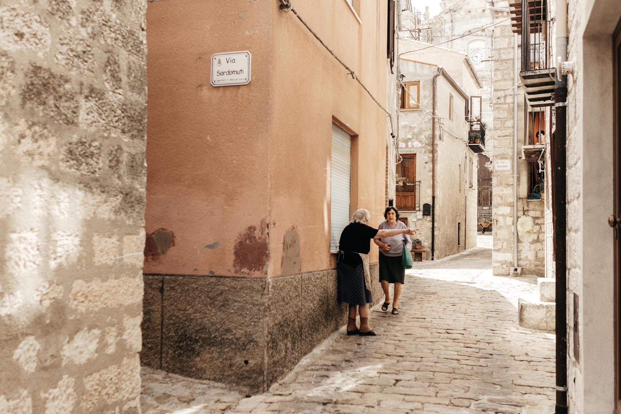 Seance engagement a Cefalu en Sicile - Warren Lecart