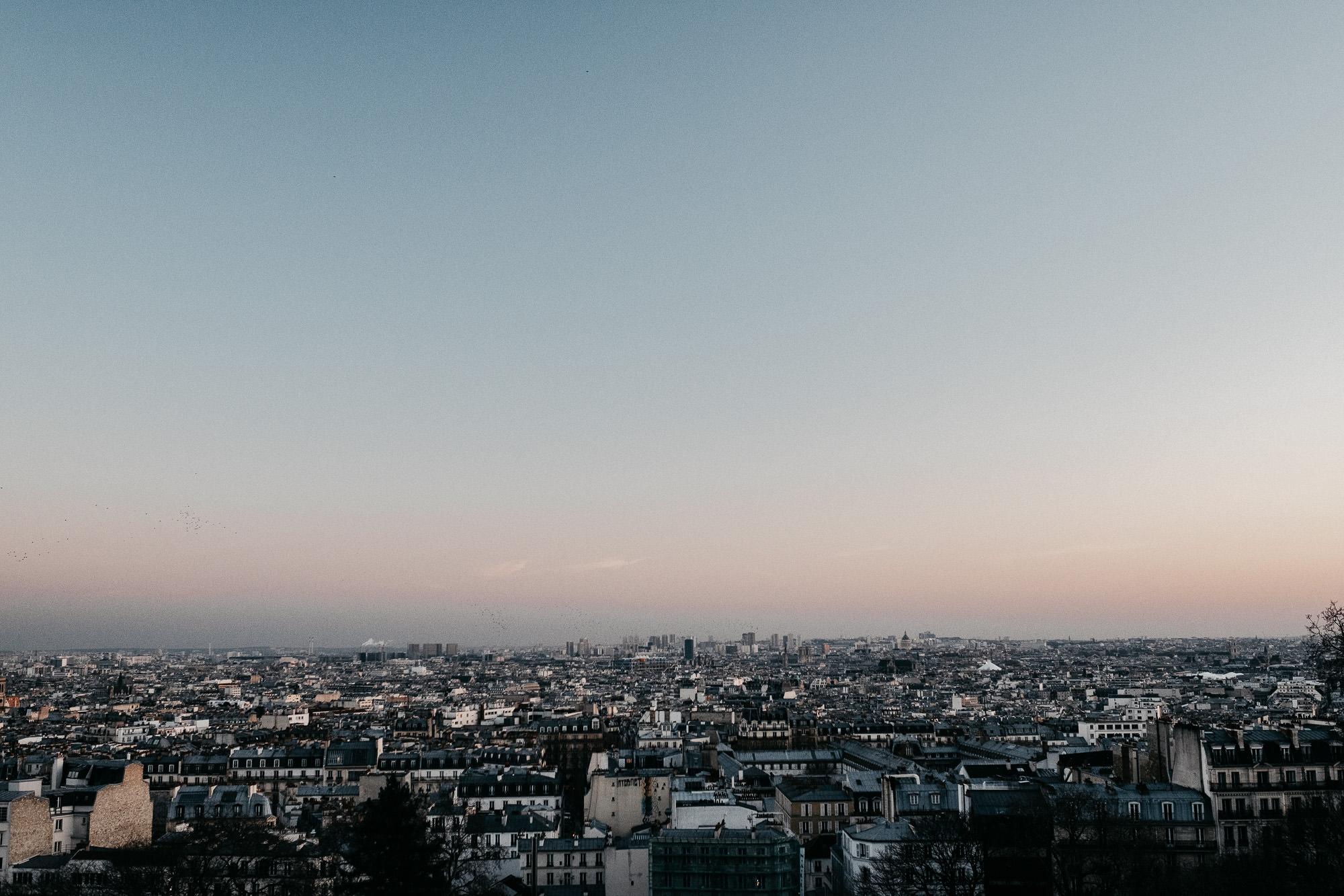 Seance engagement à Montmartre - Warren Lecart