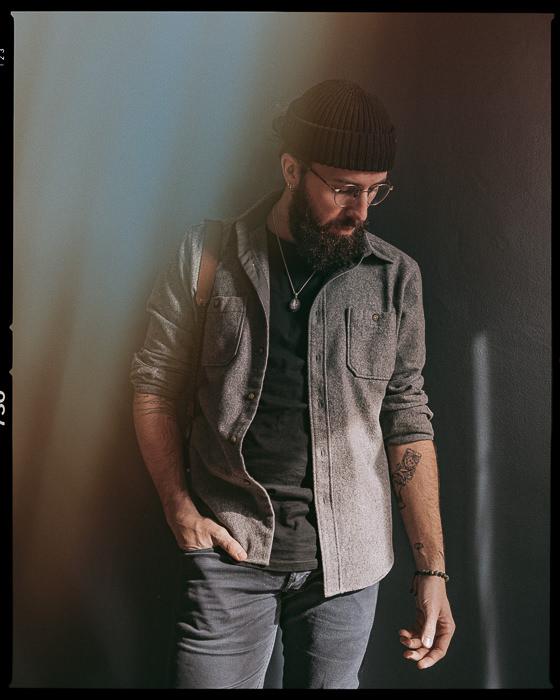 Autoportrait de Warren Lecart